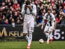 La Juventus perdió su invicto liguero esta jornada, ante el Genoa. AFP