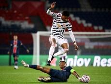 Après PSG-United, Solskjaer compare Rashford et Mbappé. AFP