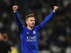 Maddison is about to sign a new contract at Leicester. AFP