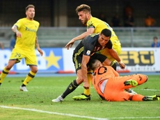 Sorrentino  falou sobre o pênalti que defendeu de Cristiano Ronaldo. AFP