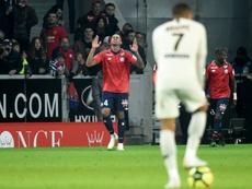 El PSG recibió un duro correctivo del Lille. AFP