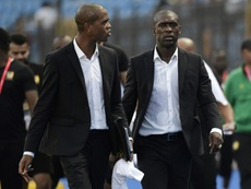 Seedorf, destituido. AFP