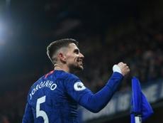 Arsenal et Paris voudraient se faire prêter Jorginho. AFP