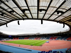 Hampden Park is the home of Scottish football. AFP