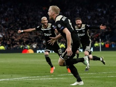 Van de Beek could be heading for Real Madrid. EFE