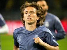 Modric nega conversas com a Inter de Milão. AFP