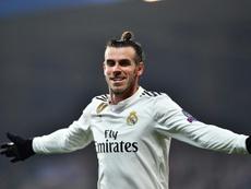 Bale encerra a seca. AFP