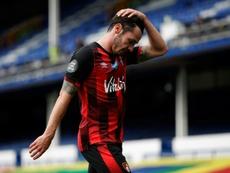 El Bournemouth gana, pero desciende. AFP