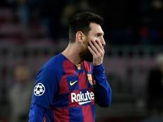 Messi se tomará su renovación con calma. AFP