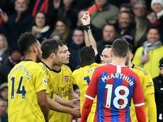 El Arsenal no pasó del 1-1. AFP