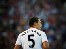 Rio Ferdinand a reconnu ses problèmes. AFP