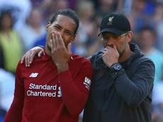 Van Dijk descartó al Chelsea y al City por Klopp. AFP