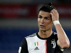 Sarri dément tout conflit avec Cristiano Ronaldo. AFP
