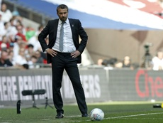 Jokanovic was frustrated by his side's mistakes. AFP