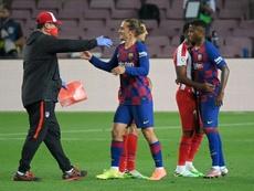 Barcelona and Griezmann will meet soon. AFP