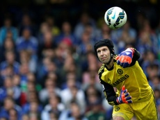 Cech left Chelsea because of Courtois. AFP