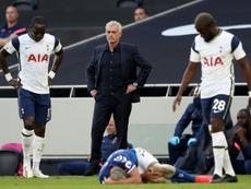 Leyon Orient v Tottenham has been postponed. AFP