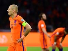 Koeman no desacarta volver a convocar a Robben si muestra un buen nivel. AFP
