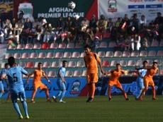 La delgada línea que unía las ejecuciones con el fútbol en Afganistán. AFP