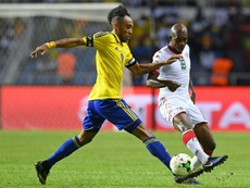 Le Gabon pourrait perdre Aubameyang après l'incident à l'aéroport. AFP