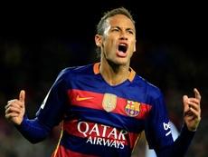 Segundo Tite, o melhor Neymar foi visto em Barcelona. AFP