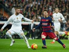 Suárez hizo de Messi. AFP