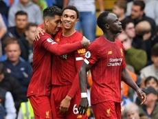 Llama la atención quién es el líder ofensivo del Liverpool. AFP