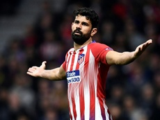 Costa refused to train with the squad this Thursday. AFP
