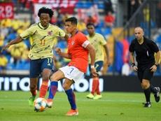 Alexis, lesionado. AFP