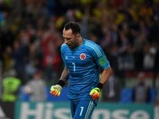El meta colombiano tiene asegurada la titularidad. EFE