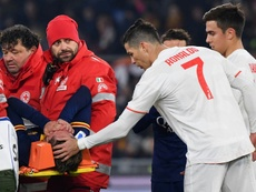 Les ligaments croisés, le cauchemar de la Roma. AFP