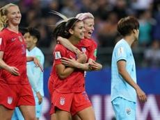 Un Mundial que clama por la igualdad. AFP