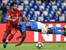 Koulibaly continua na agenda do Real Madrid. AFP