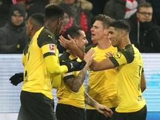 El Borussia quiere demostrar por qué es líder. AFP