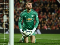United may give De Gea extra money so that he does not leave for free. AFP