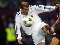 El Madrid luciría una camiseta en homenaje a la 'Novena' en la próxima Champions. AFP