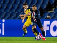 Neymar não desiste de voltar ao Barcelona. AFP