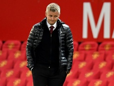 Solskjaer: Manchester United not thinking about Chelsea. AFP