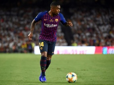 Malcom contó cómo se concretó su extraño fichaje por el Barça. AFP