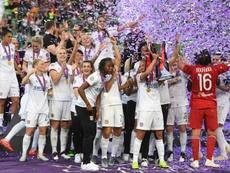 El Olympique de Lyon prolongó su dominio en Europa. AFP