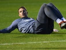 Manuel Neuer podría estar un tiempo de baja, y el Bayern ya busca alternativas. AFP/Archivo