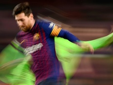 Messi a marqué face à Levante. EFE