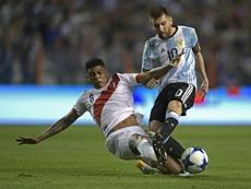 Les compos probables du match entre le Pérou et l'Argentine. afp