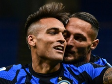 Palermo elogió a Lautaro. AFP