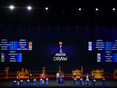 England and Scotland were drawn into the same group for next summer's tournament. AFP
