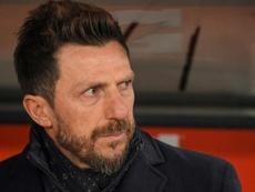 Di Francesco aviva los rumores viéndose con Monchi en Sevilla. AFP