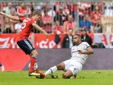 La Juve et l'Atlético se battent pour Tah. AFP