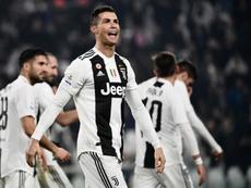 Cristiano Ronaldo 7 vezes mais feliz na Juventus. AFP