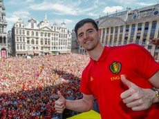 Courtois quer ser negociado com o Real Madrid. AFP