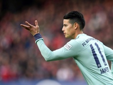 Real Madrid gives Napoli an ultimatum regarding James. AFP